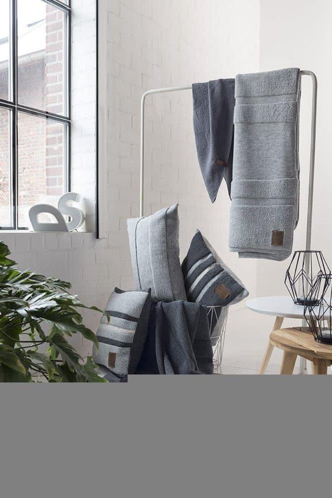 Knit Factory Yara Plaid Beige/Licht Grijs