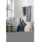Knit Factory Yara Plaid Antraciet/Licht Grijs