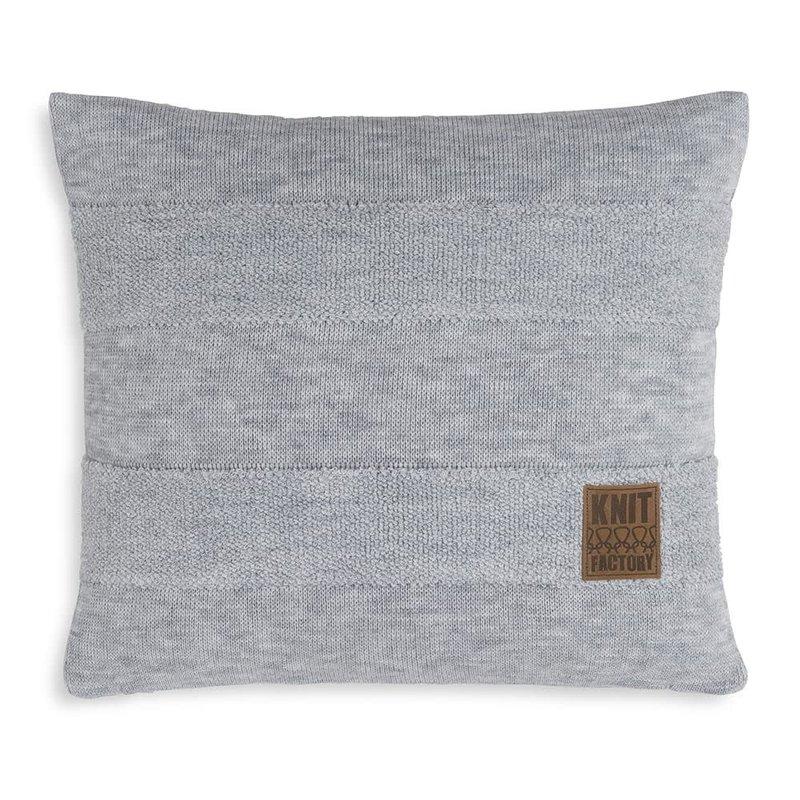 Knit Factory Yara Kussen 50x50 Licht Grijs