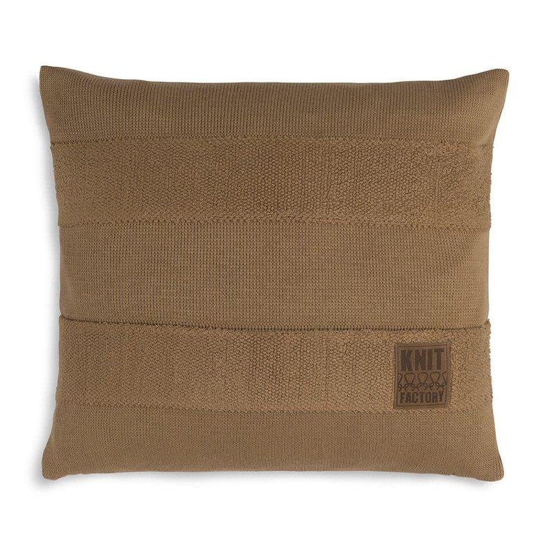 Knit Factory Yara Kussen 50x50 New Camel