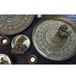 Light&Living Schale Ø58x1,5 cm MELE antik grün-gold