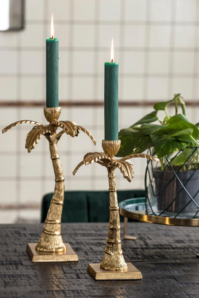 Light&Living Kaarsenstandaard Ø17x26 cm TAXA goud