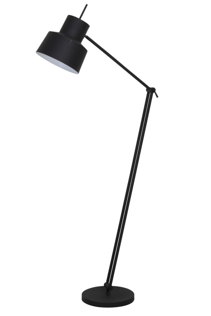 Light&Living Vloerlamp Ø30x120-188 cm WESLY zwart