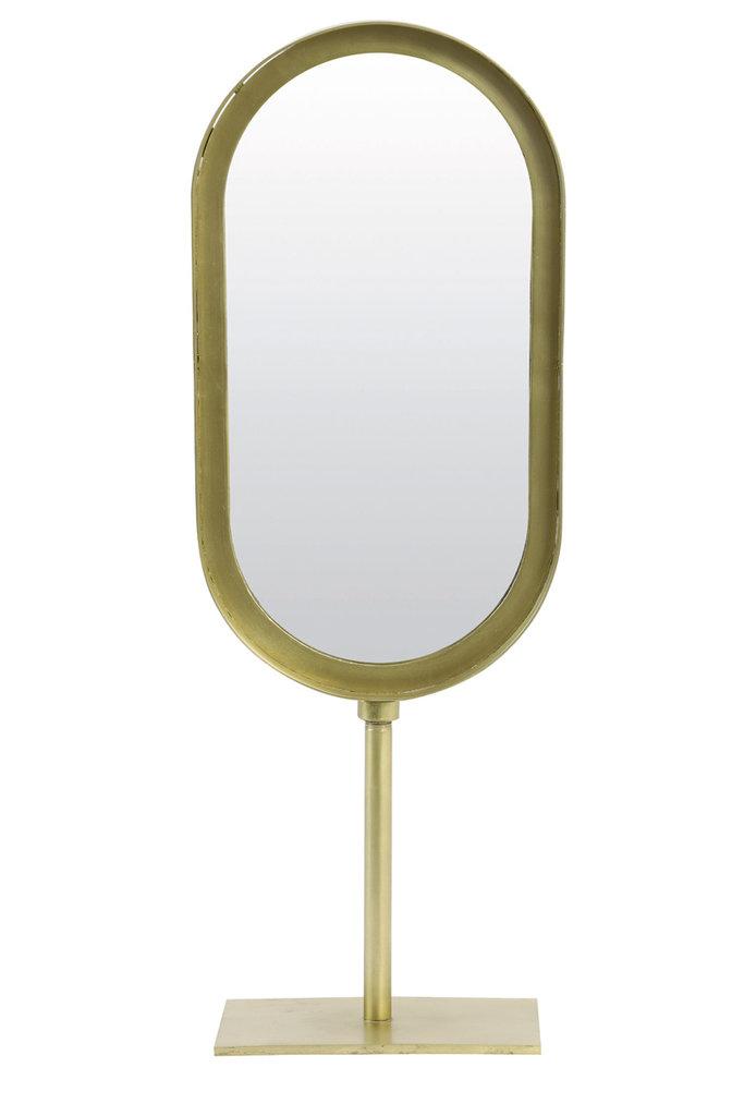 Light&Living Spiegel ovaal 16x10x45 cm LURE oud brons