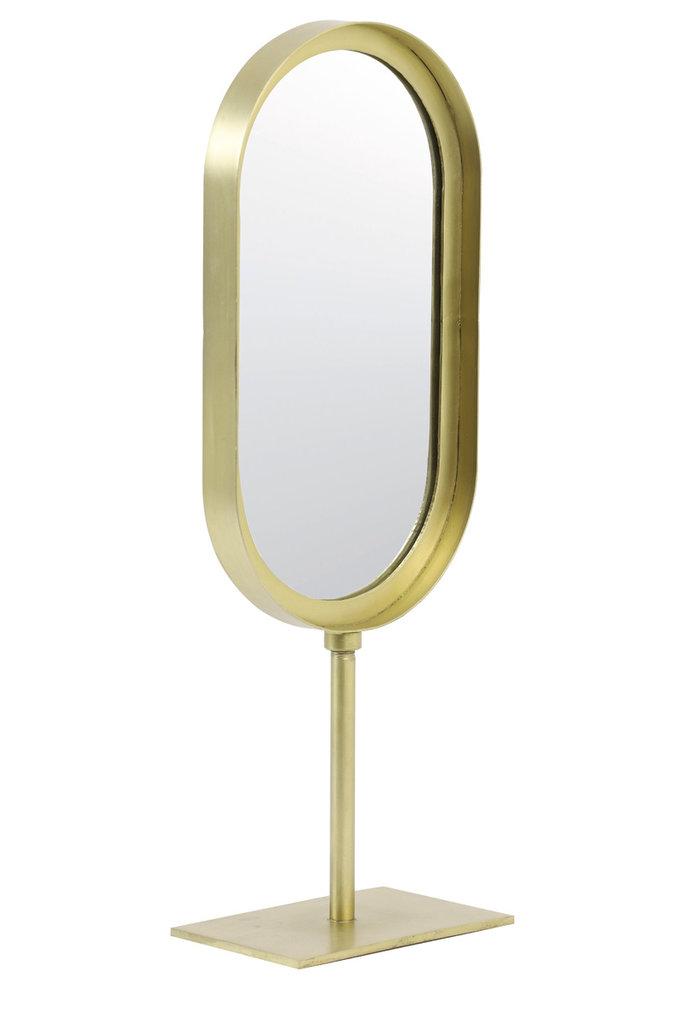 Light&Living Spiegel oval 16x10x45 cm LURE alt bronze