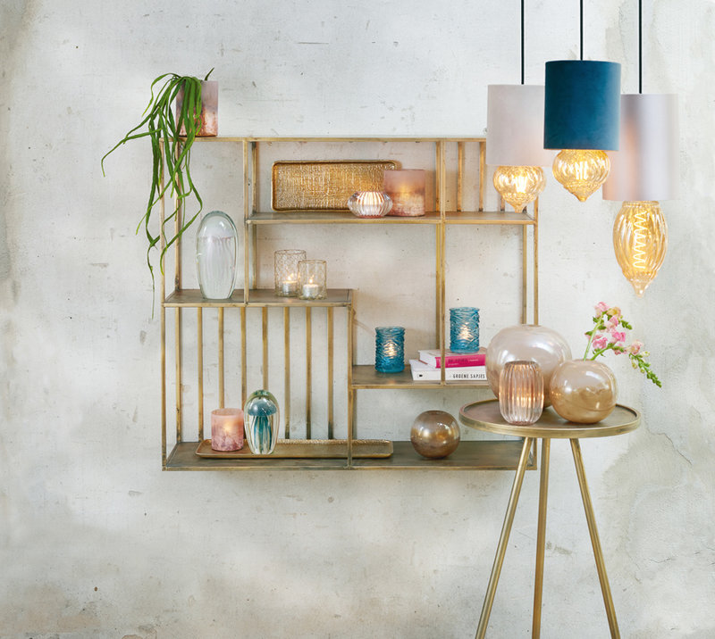 Light&Living Zuil Ø30x80,5 cm ENVIRA zink
