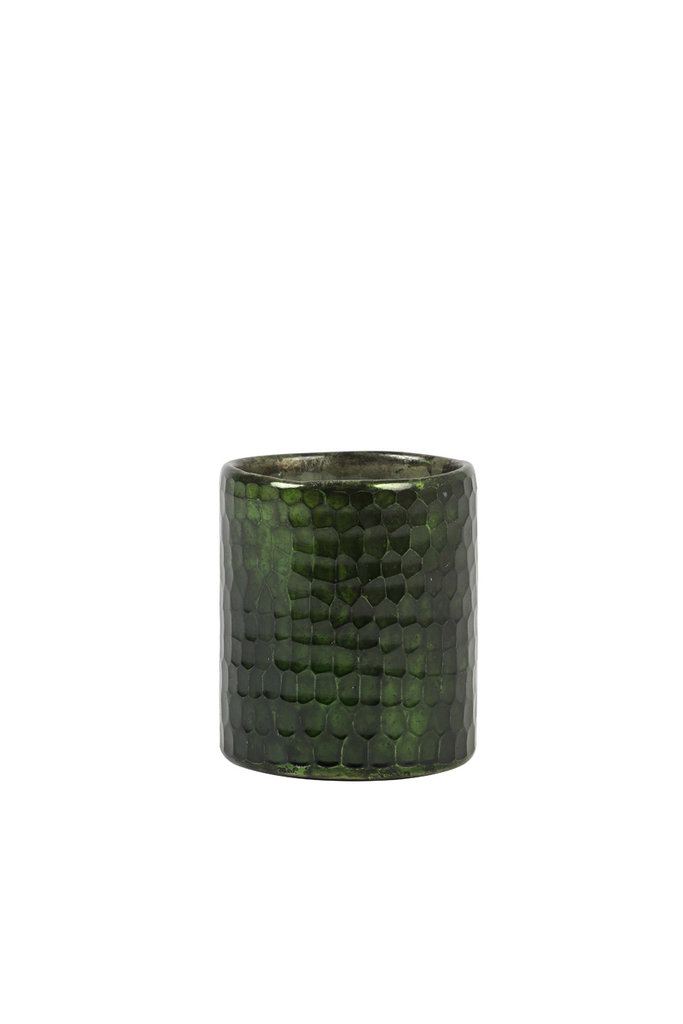 Light&Living Theelicht Ø8x9 cm MOTOPI stralend groen