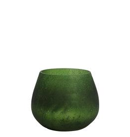 Light&Living Theelicht  GIANNI mat groen-zilver 10 cm