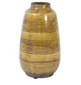 Light&Living Vase BATUR keramik ocker 26,5 cm