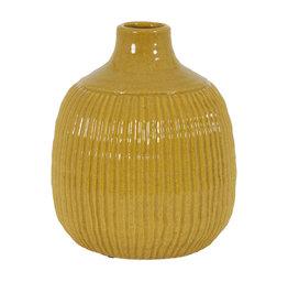 Light&Living Vase SALVADA ocker 26 cm