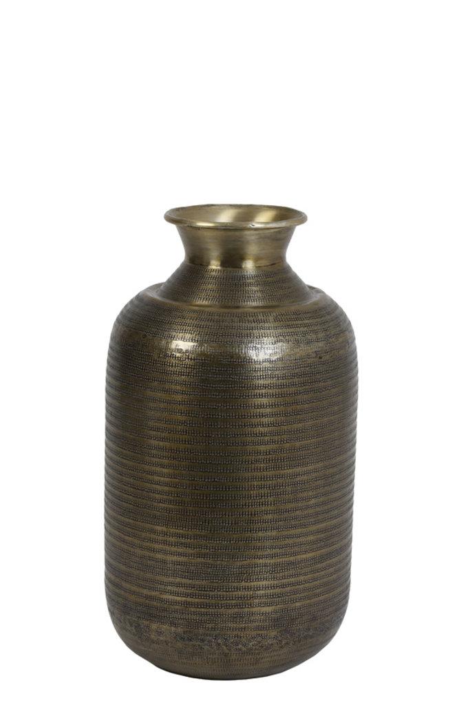 Light&Living Vaas Ø29x53 cm PERROY antique brons