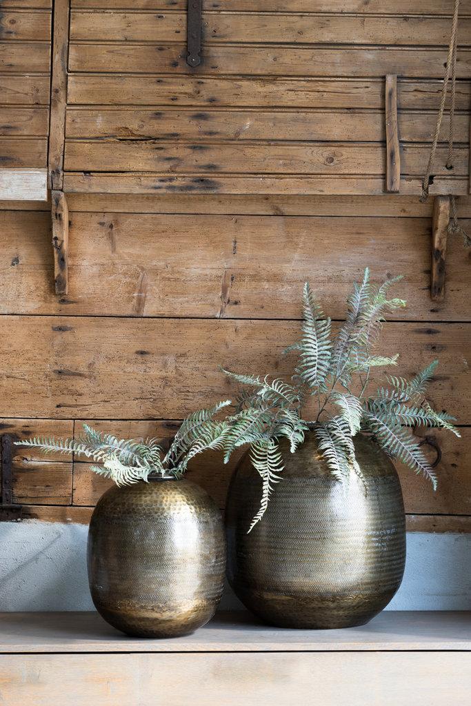 Light&Living Vase Ø36x38 cm LEZAY antik bronze