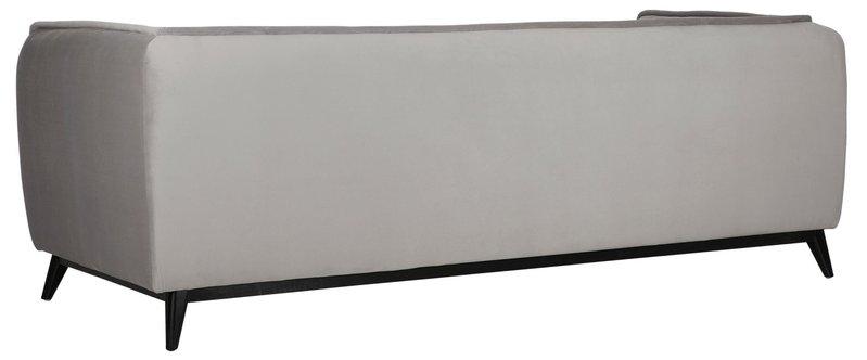 Must Living Sofa Escape - 76x222x91 cm - smooth slate grey