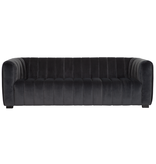 Must Living Sofa Elegant - 75x230x96 cm - Smooth dark grey