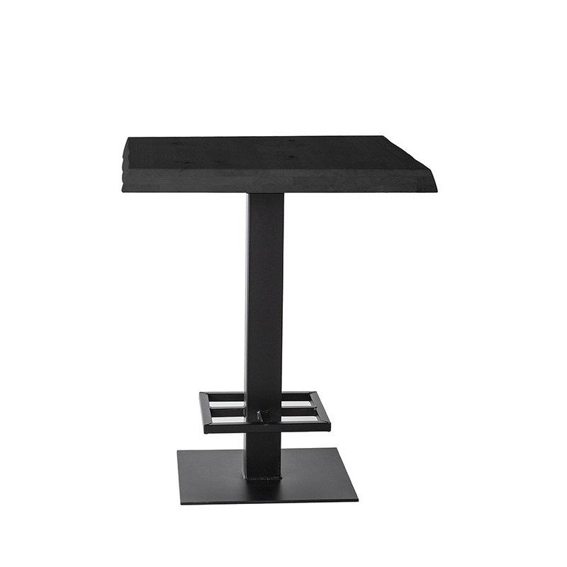 Eleonora Countertafel - 80x80 zwart