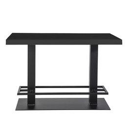 Eleonora Countertafel - 140x80 zwart