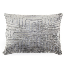 By-Boo Pillow Madam 35x55 cm - grey