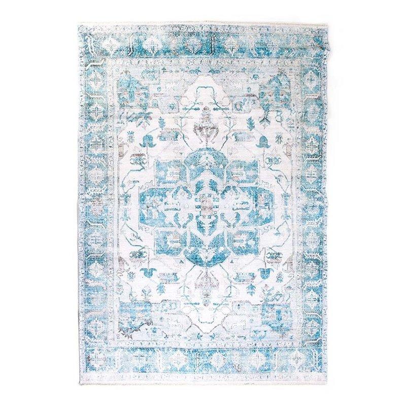 By-Boo Teppich Alix 200x290 cm - blau