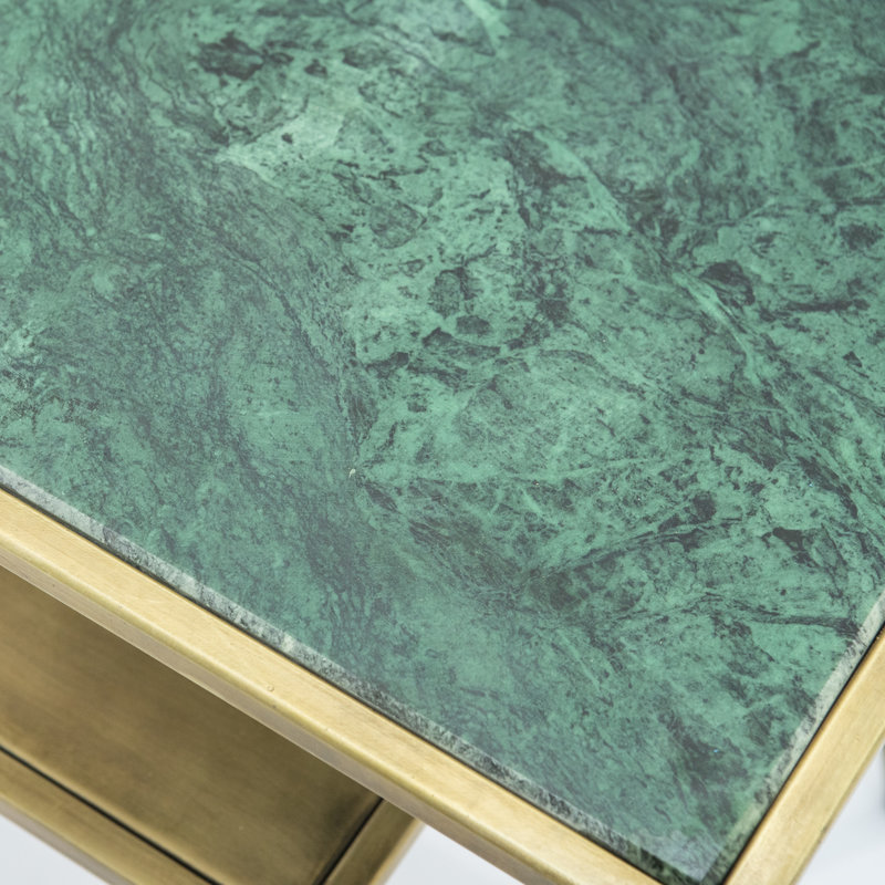 By-Boo Caesar corner table - green