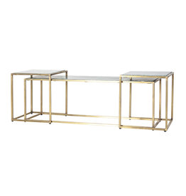By-Boo Caesar coffee table set - green