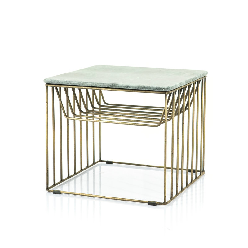 By-Boo Caesar side table - green
