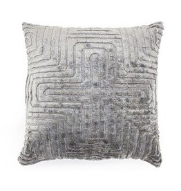 By-Boo Pillow Madam 45x45 cm - grey