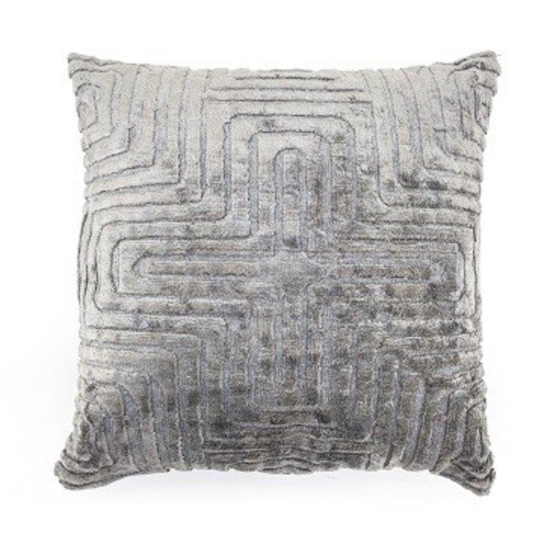 By-Boo Pillow Madam 45x45 cm - grey