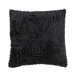By-Boo Pillow Madam 45x45 cm - black