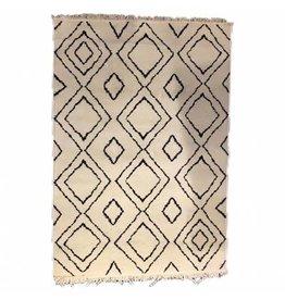By-Boo Carpet Groove 160x230 cm - white