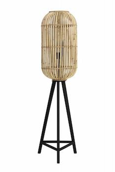 vloerlamp bamboe