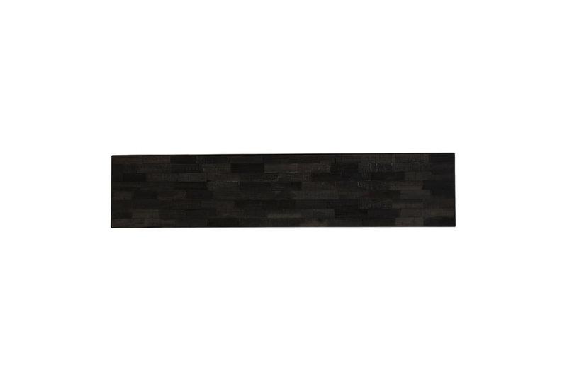 Light&Living Beistelltisch 160x40x80cm CORTI matt schwarz