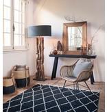 Light&Living Side table 160x40x80cm CORTI mat zwart