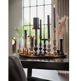 Light&Living Kerzenständer Ø10x26 cm AURIER matt schwarz
