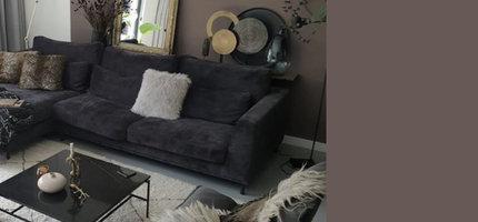 Sofas für kleine Wohnzimmer & Styling-Tipps