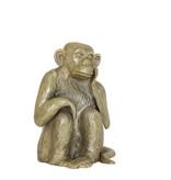 Light&Living Ornament 21x18x26cm MONKEY antiek brons