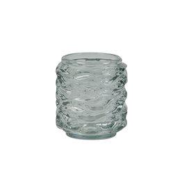 Light&Living Theelicht Ø9x10cm GINGER glas licht groen