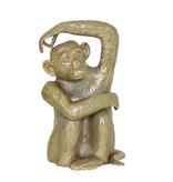 Light&Living Ornament 21x18x31,5cm MONKEY antiek brons