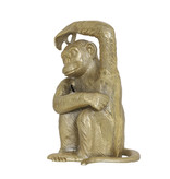 Light&Living Ornament 21x18x31,5cm MONKEY antik bronze