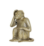 Light&Living Ornament 21x18x27cm MONKEY antiek brons
