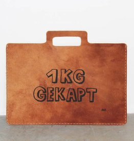 "Atelier Dubbeloo LEATHER BAGS (laptop 15""+ zeefdruk - gekapt)"