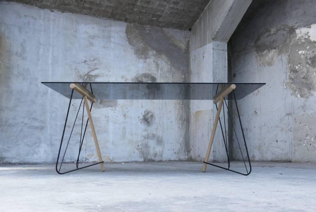 Kontour design Tw Trestle Table