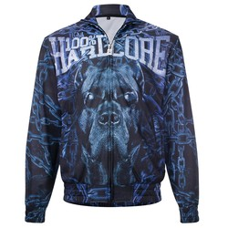 100% Hardcore Training Jacket Chained Blue