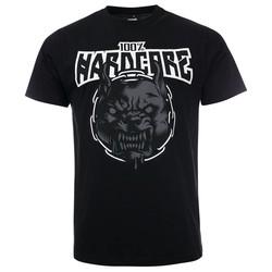 100% Hardcore T-Shirt Rage Zwart