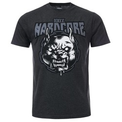 100% Hardcore T-Shirt Rage Grey