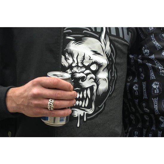 100% Hardcore T-Shirt Rage Grijs