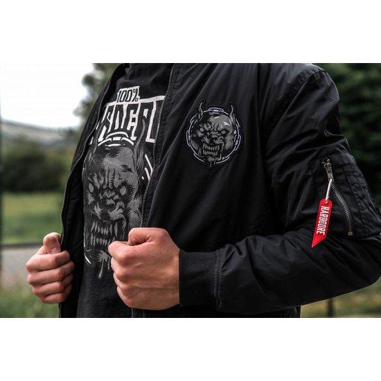 100% Hardcore T-Shirt Rage Black