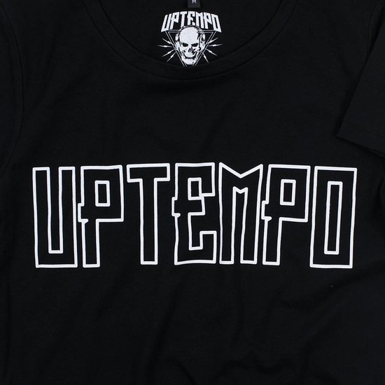 Uptempo Lady T-Shirt Outline