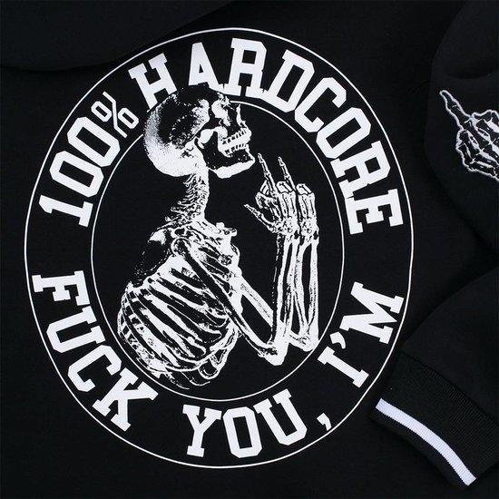 100% HC Hooded Zipper F*ck You