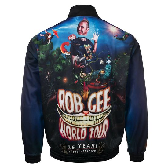 "100% Hardcore X Rob GEE Training Jacket ""Tour"""