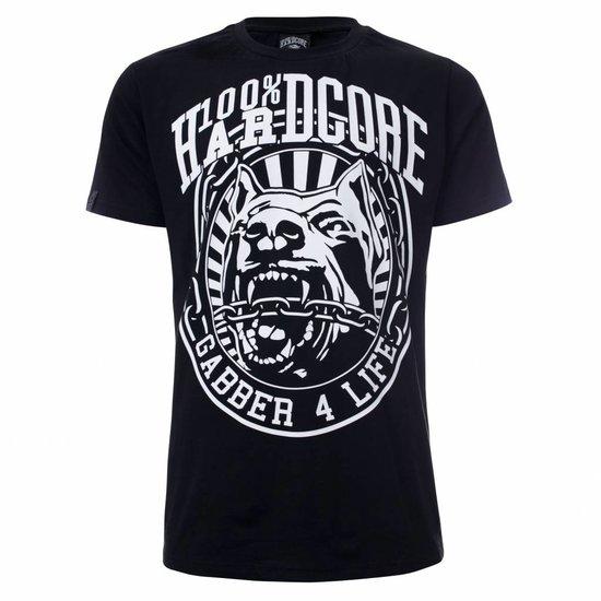 100% Hardcore T-Shirt gabber 4 Life